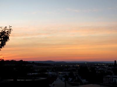sunset, June 27, 2019