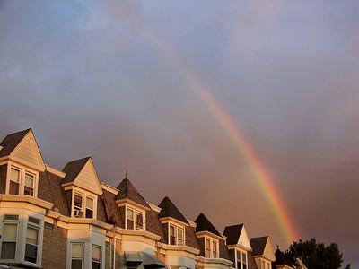 rainbow, June 17, 2008