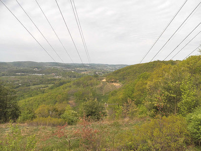 view from Neversink Mountain, April 28, 2012