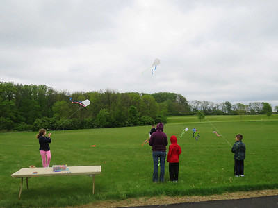 kite flying at the Nature Expo, May 6, 2017
