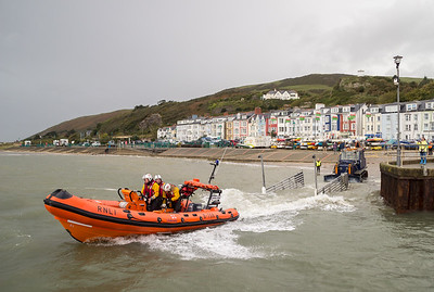 Aberdovey Lifeboat.