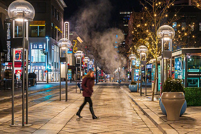 16th Street Mall. Denver, Colorado. November 22, 2019