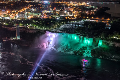 View of Niagara Falls from Skylon Tower