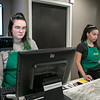 Local Roots was getting ready for Wednesday's opening on Monday, March 16, 2020. Emily Mount and Aly Serrano were working behind the counter to get ready for their opening. SENTINEL & ENTERPRISE/JOHN LOVE