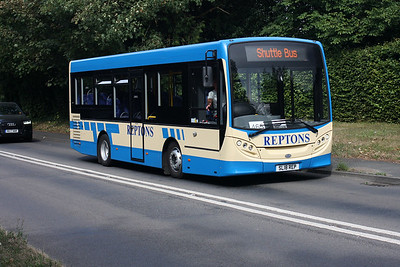 SL18 REP on the Guildford Road, Leatherhead.