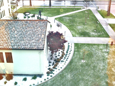 Looks like it snowed!