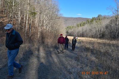 Falls Ridge Hike 1/14/16