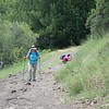 Anita and Donna, who was in her standard position taking pictures of the wildflowers