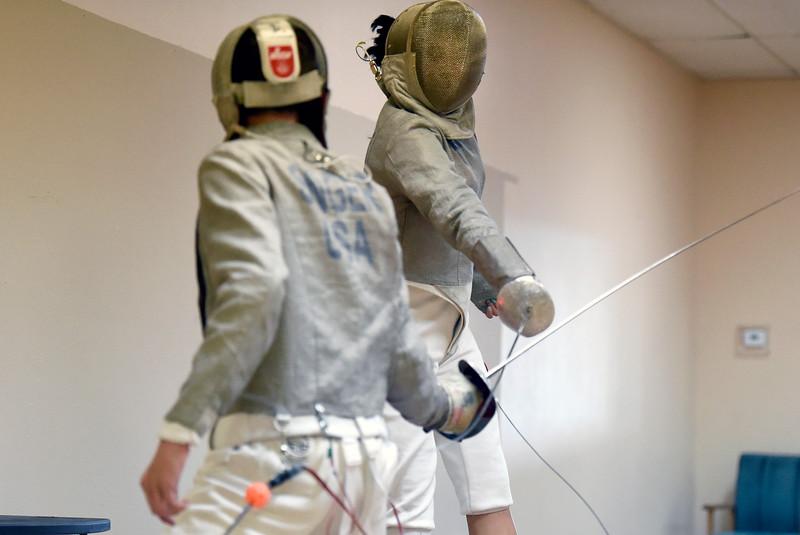 Fencing Teens