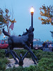 Pony monument, Chincoteague, VA