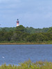 Assateague light house from the beach, Chincoteague, VA