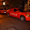 never saw customer courtesy cars from Oracle before