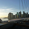 lower Manhattan from the Brooklyn Bridge