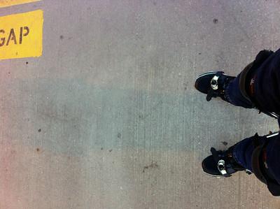 2011-07-02 my longest stilt trip yet - 9.3 miles (15 km)
