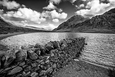Tryfan from Llyn Idwal, Snowdonia, North Wales