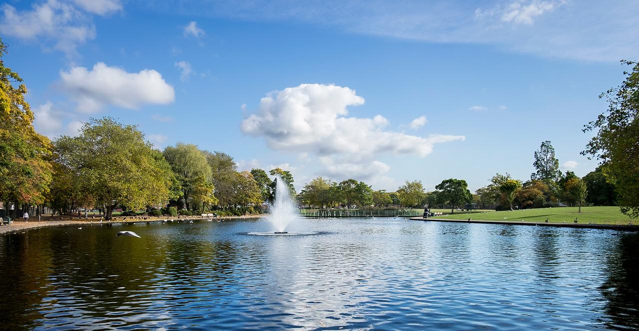 Victoria park, Widnes Chshire.
