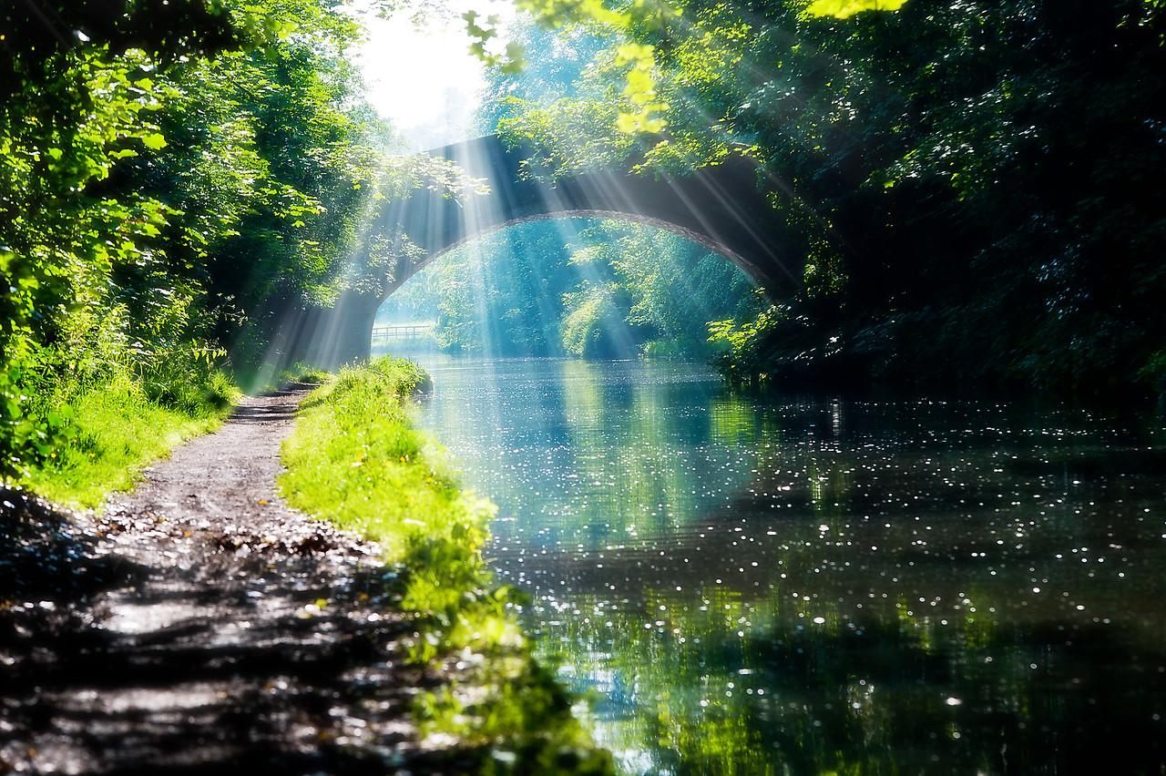 Canal Walton, Cheshire.