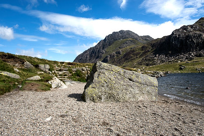 Tryfan from Llyn Idwal, Snowdonia, North Wales
