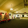 """Christmas decorations inside Crossroads Community Church on Ashby State Road in Fitchburg. Crossroads will hold their annual Christmas Spectacula """"Do You Hear What I Hear?"""" on December 23rd at 7 p.m. SENTINEL & ENTERPRISE / Ashley Green"""