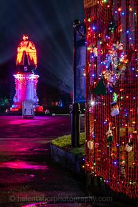 Illuminated Winter Wonderland by night-19