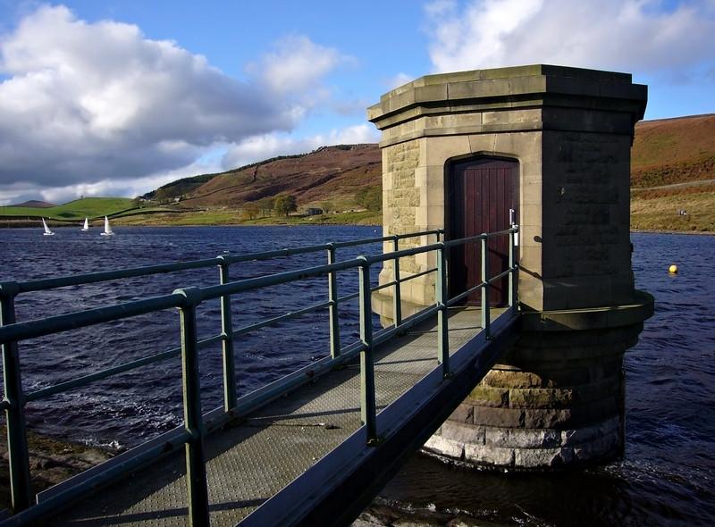 Reservoir at Embsay, near Skipton.