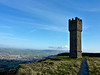 Lund's Tower above Cowling near Keighley on a chilly November day