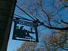 Haworth: Brontë Parsonage Museum sign