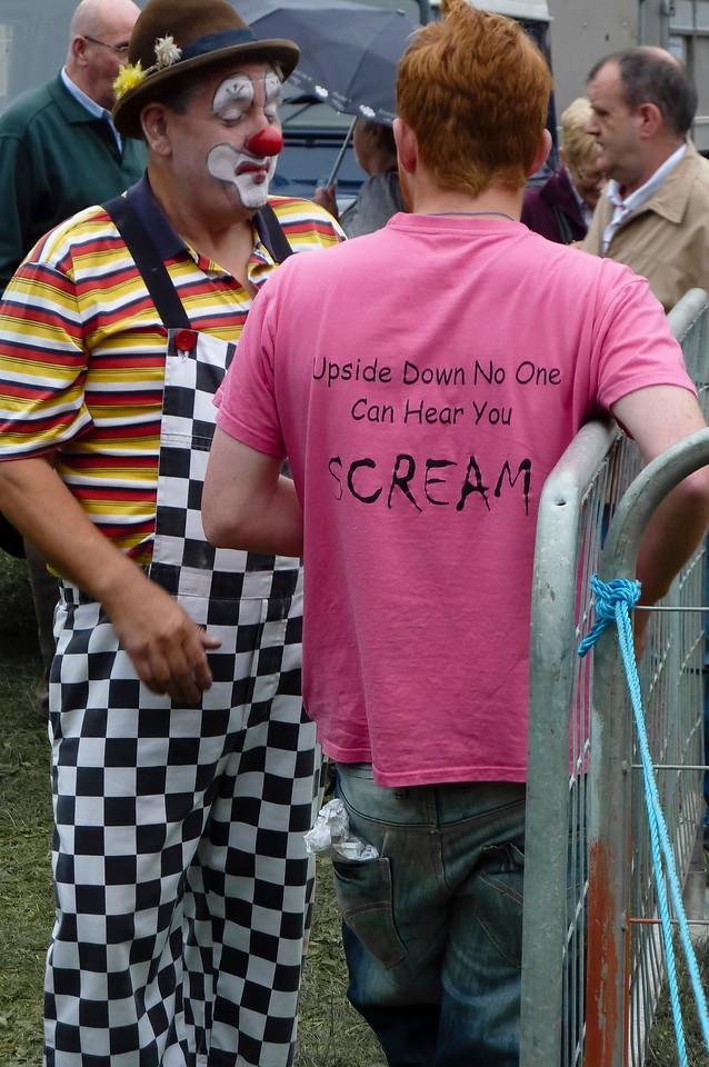 Clown at Bingley Show 2010