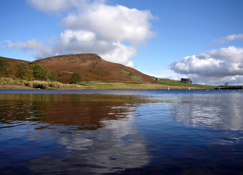 Reservoir at Embsay, near Skipton.