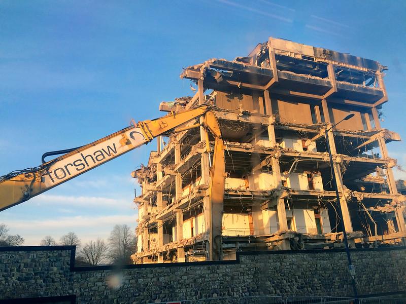 Bradford and Bingley Headquarters – final days