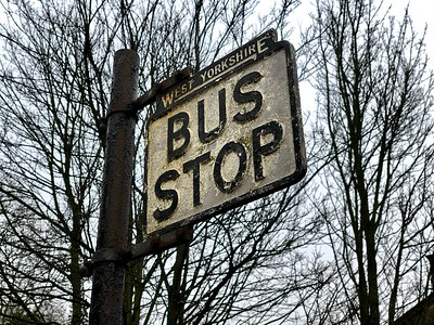Bus Stop, Haworth Railway Station