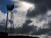 Bright November morning in 2010. Phone mast above Riddlesden.