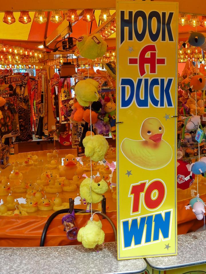 Hook-a-Duck at Bingley Show 2010