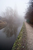 Foggy morning on the canal