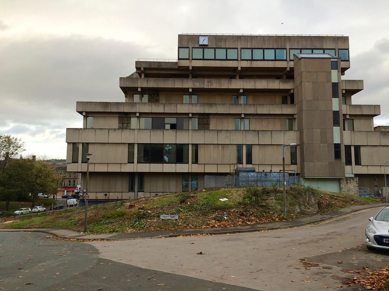 Bradford and Bingley HQ in Bingley