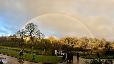 Rainbow at Bolton Abbey