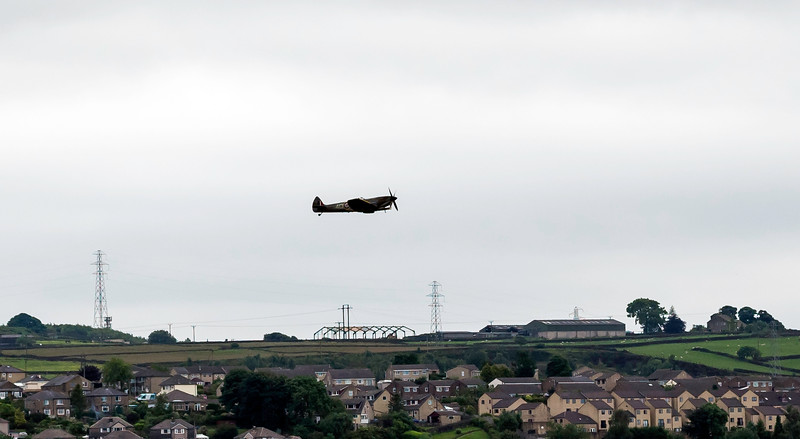 Spitfire Flypast (Keighley)