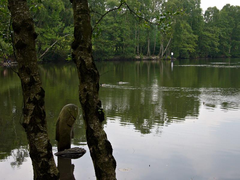 The lake at St. Ives near Bingley