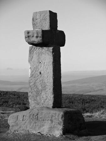 Stone Cross, Ilkley Moor