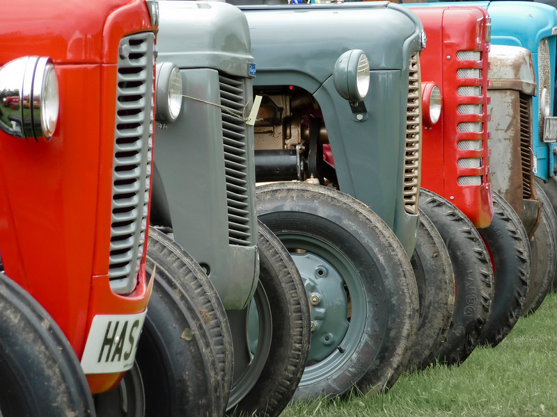 Tractor identity parade