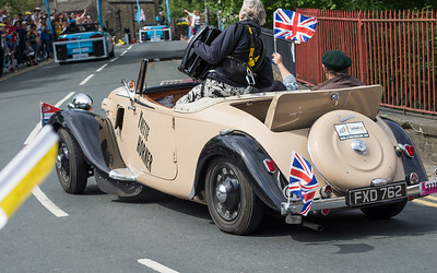 1939 Citroën Traction cabriolet in Haworth