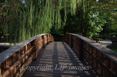 Loose Park foot bridge. Kansas City, Missouri
