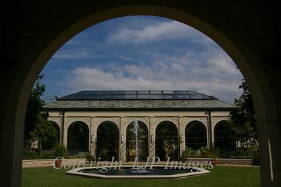 Greenhouse, Kauffman Gardens.  Kansas City, Missouri