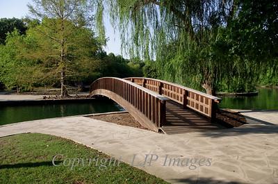 Loose Park foot bridge. Kansas City, Missouri