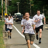 Runners from local high school joined together to kick off the Gardner Relay for Life on Friday, June 9, 2017. Athletes carried a torch from Leominster, through to Lunenburg, to Fitchburg and finally onto Gardner. Athletes from the Sizer School, led by Matthew Marr, arrive at Monty Tech to pass off the torch. SENTINEL & ENTERPRISE / Ashley Green