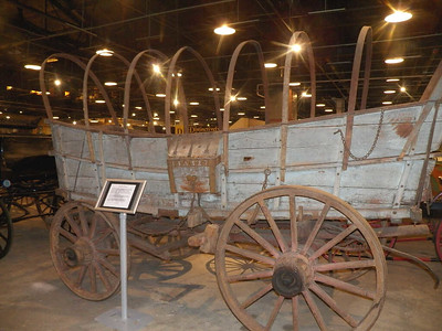 Conestoga wagon built in 1827 by Albert Bohn of Bernville, Pennsylvania
