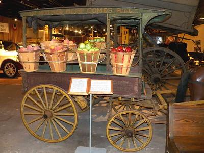 horse-drawn huckster cart