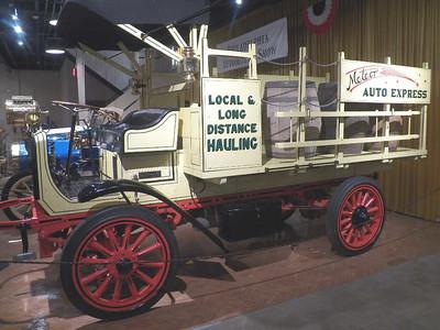 1916 Autocar stake body truck