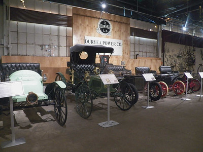Duryea Power Company cars from 1900 through 1908