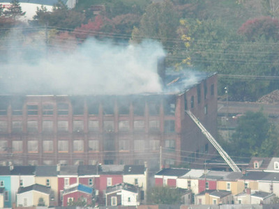 outlet fire, Reading, October 18, 2014